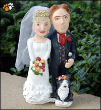 Darren & Vicki Pearce Wedding Cake Topper